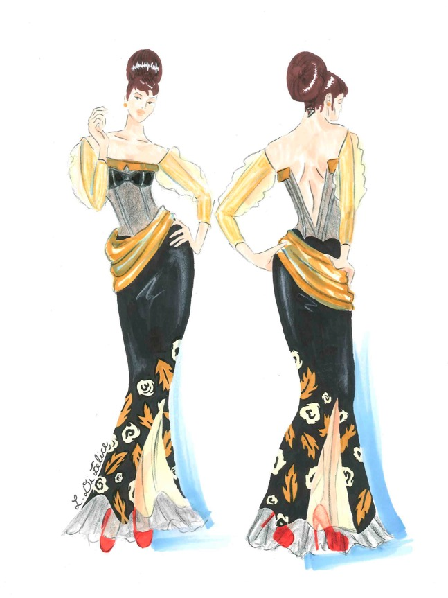 Ryerson Fashion Design Portfolio Examples Fashion Slap